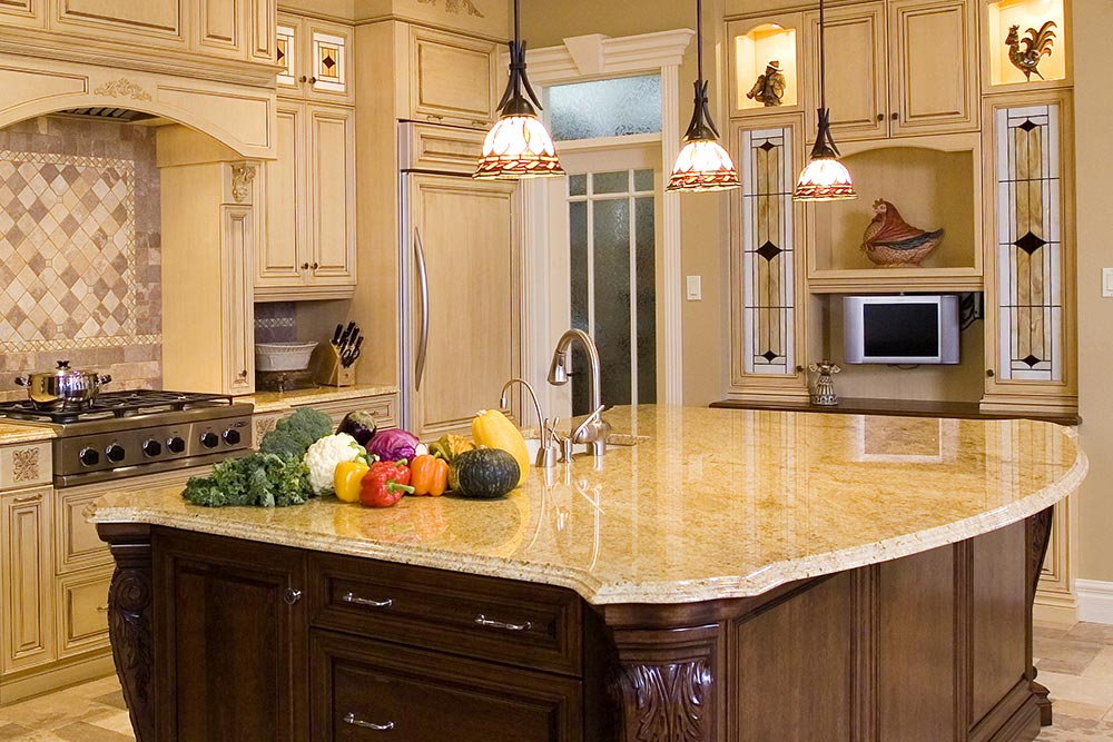 Kitchen Remodel with granite countertops Houston Granite Guy