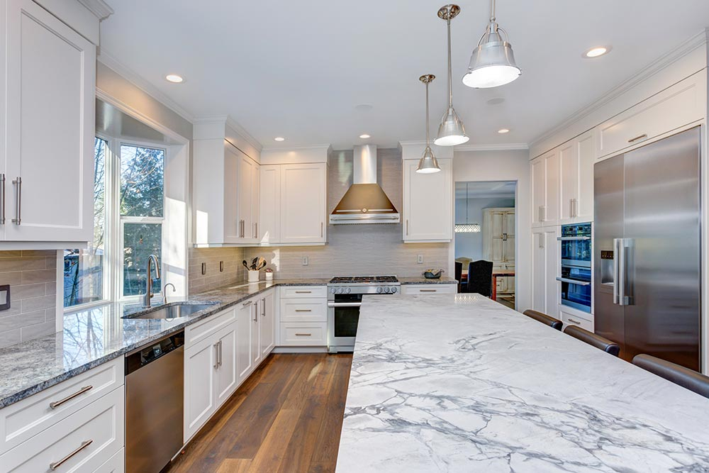 Calacatta Marble Kitchen Countertop Houston Granite Guy
