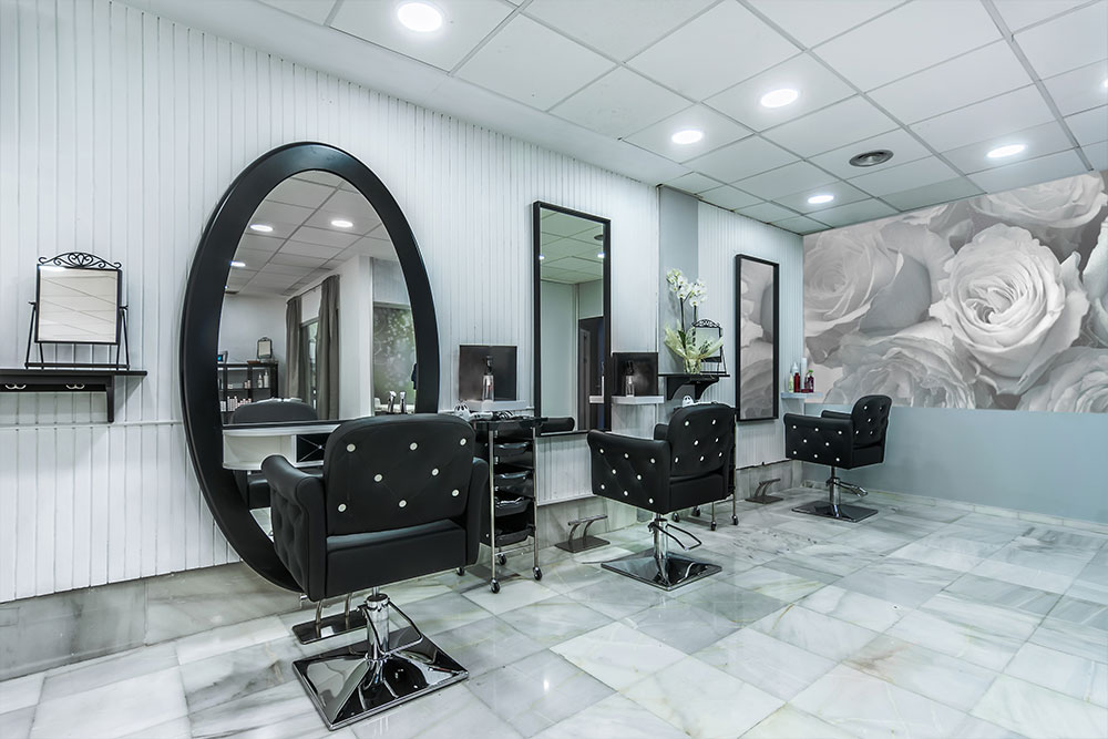 Commercial Construction Salon Flooring Houston Granite Guy