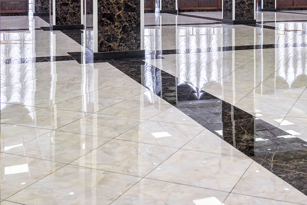 Commercial Construction Marble Flooring Lobby Houston Granite Guy