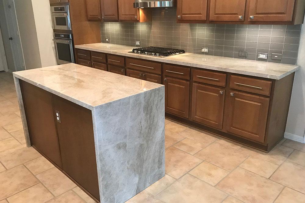 Quartzite Countertops Kitchen Houston Granite Guy