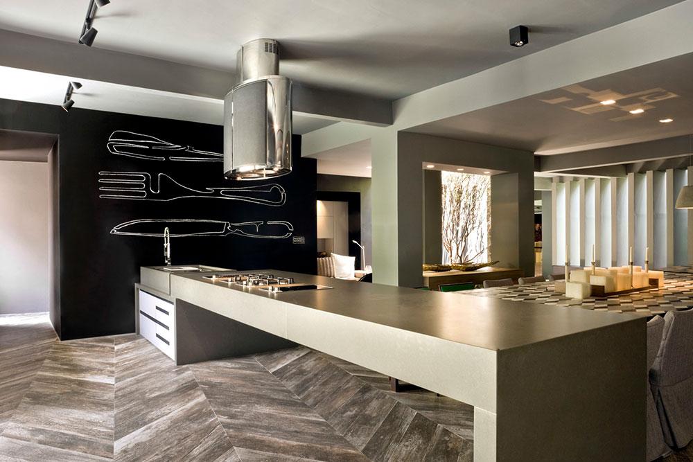 Commercial Construction Hotel Kitchen Buffer Bar Houston Granite Guy